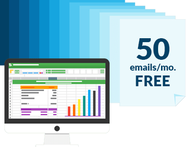 100% Free Plan for up to 50 Email Receipt Entries a Month